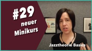 neuer Minikurs Jazztheorie
