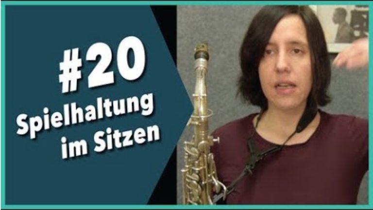 Read more about the article Video #20 Saxophon lernen: Spielhaltung im Sitzen