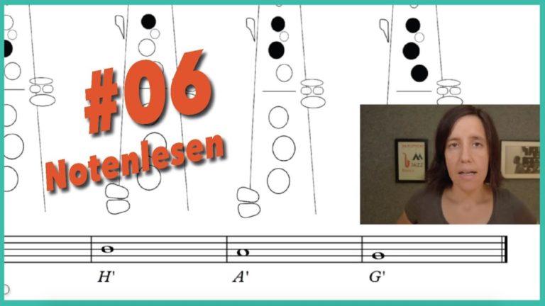 Read more about the article Video #6 Noten lesen lernen – warum und wie?
