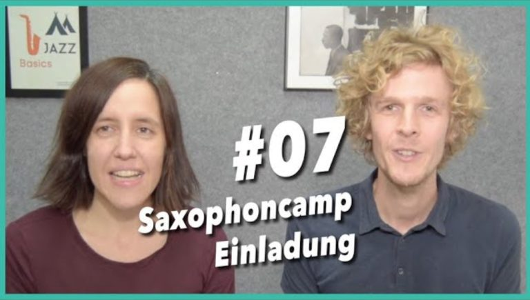 Read more about the article Video #7 Vorstellung des Saxophoncamps – ein Jazz und Improvisationsworkshop