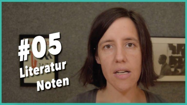 Read more about the article Video #5 Tipps zu Literatur und Noten