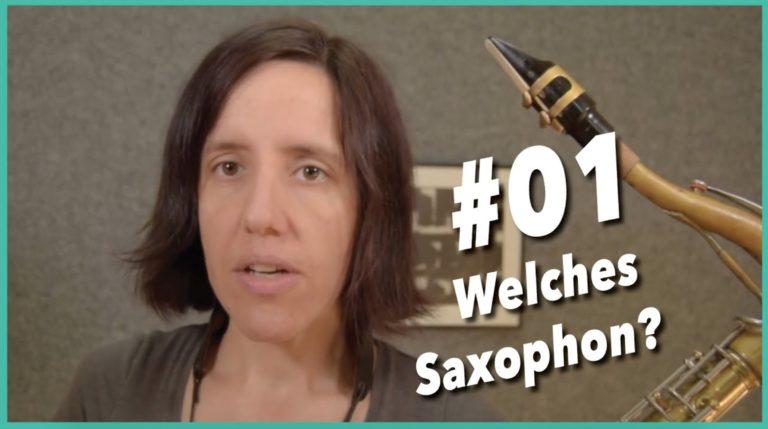 Video #1 Welches Saxophon für Anfänger? Alt oder Tenor?