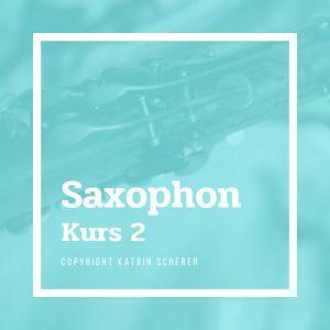Saxophonkurs 2