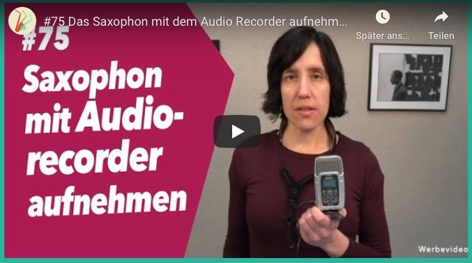 Read more about the article #75 Saxophon Audio Recorder