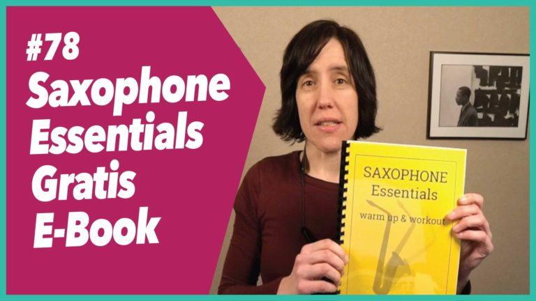 #78 Saxophon Essentials – wichtige Übungen in meinem Mini E-Book