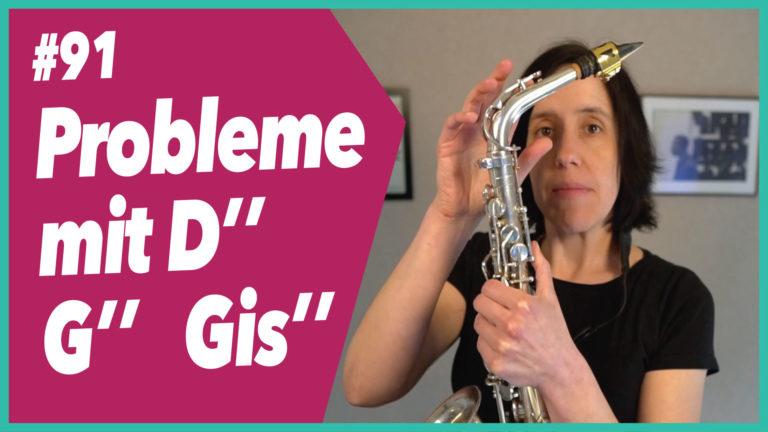 """#91 Probleme mit D"""" und G"""" / Gis"""""""