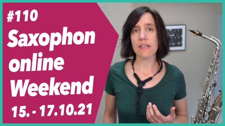 #110 Vorstellung: Das Saxophon Online Weekend