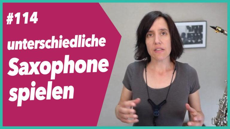 Read more about the article #114 Mehrere Saxophone gleichzeitig üben