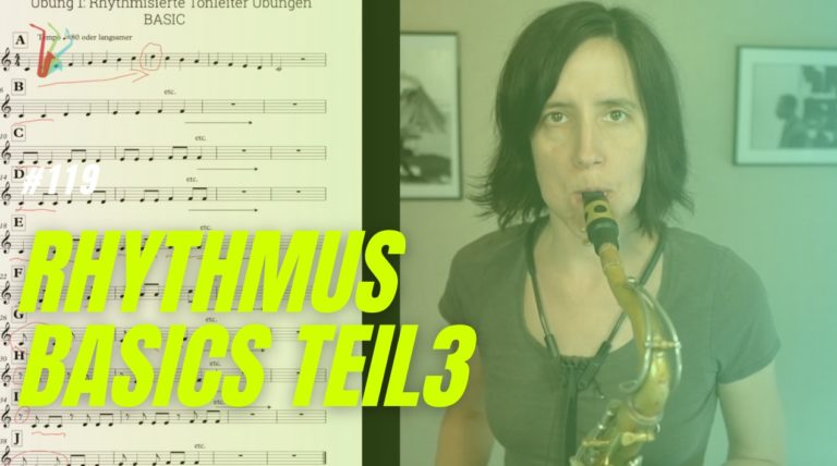 Read more about the article #119 Rhythmus Basics 3 Tonleiter Übungen